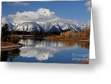 Mt Moran Greeting Card