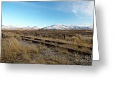 Mt Putnam Greeting Card