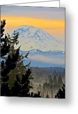 Mt. Rainier #1 Greeting Card