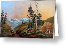 Mt. Rainier 6 Greeting Card