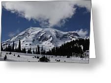 Mt. Rainier Greeting Card