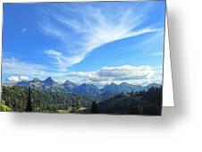 Mt. Rainier National Park Greeting Card