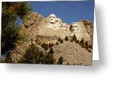Mt Rushmore II Greeting Card