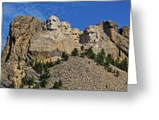 Mount Rushmore-2 Greeting Card