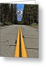 Mt Shasta California Greeting Card
