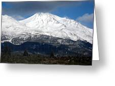 Mt. Shasta Photograph Greeting Card