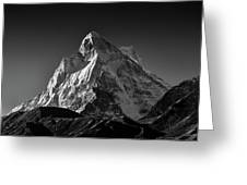 Mt Shivling Above Tapovan Greeting Card