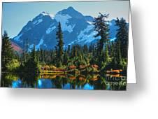 Mt. Shuksan Greeting Card