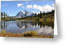 Mt Shuskan In Fall Greeting Card