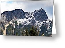 Mt. Si South View Greeting Card