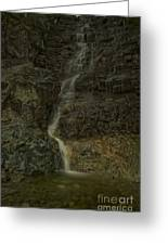 Mt St Benidict Waterfall Greeting Card