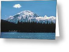 Mt. St. Helens 1975 Greeting Card