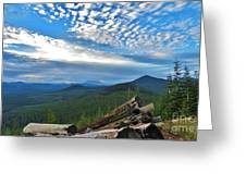 Mt. St. Helens And Red Mountain Greeting Card