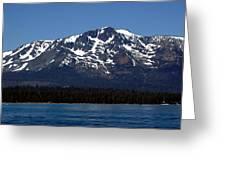 Mt Tallac Greeting Card