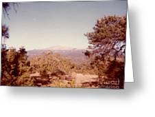 Mt Taylor  Greeting Card