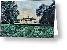 Mt Vernon Greeting Card by John Winner