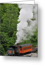 Mt Washington Cog Railroad Greeting Card