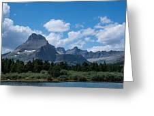 Mt Wilbur In Glacier National Park Greeting Card