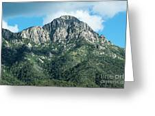Mt. Wrightson Summit Greeting Card