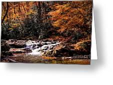 A Warm Fall Day Greeting Card