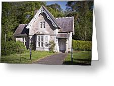 Muckross Cottage Killarney Ireland Greeting Card