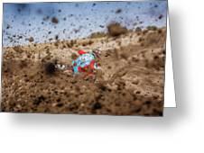 Mud Action Greeting Card