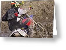 Mud Mayhem Greeting Card