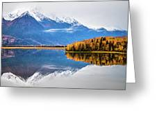 Mudd Lake Reflections Greeting Card