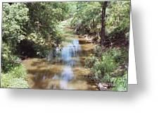 Muddy Hickory Creek  Greeting Card