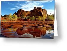 Muddy Reflection Greeting Card