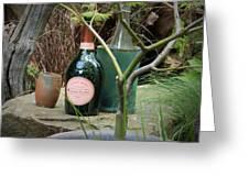 Mug Of Champagne Greeting Card