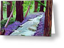 Muir Woods - Psalm 1 Verse 3 Greeting Card