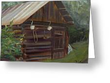 Mulberry Farms Grainery Greeting Card