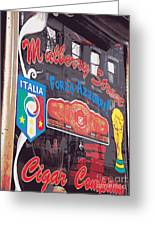 Mulberry Street Cigar Company Greeting Card