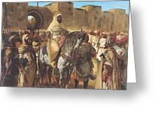 Muley Abd Ar Rhaman  Greeting Card