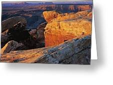 Muley Point Sunrise Greeting Card