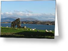 Mull And The Trossachs From Iona Greeting Card