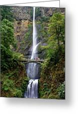 Multanomah Falls Greeting Card