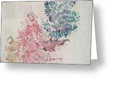 Multicolour Fern Greeting Card