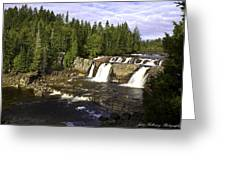 Multiple Waterfalls Greeting Card by John Holloway