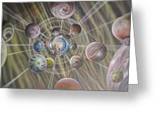 Multiverse 582 Greeting Card