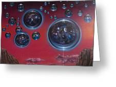 Multiverse 6 Greeting Card