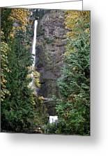 Multnomah Falls - 5 Greeting Card