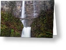 Multnomah Falls 3 Greeting Card
