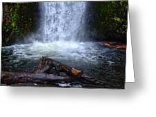 Multnomah Falls 5 Greeting Card