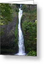 Multnomah Falls Wf1039 Greeting Card