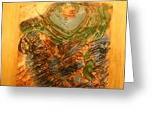 Mums Handful - Tile Greeting Card