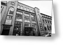municipal school for jewellers and silversmiths Birmingham UK Greeting Card