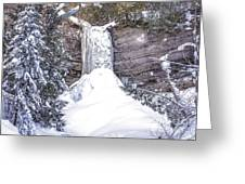 Munising Fall Michigan Greeting Card