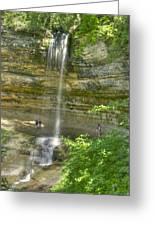 Munising Waterfall Greeting Card